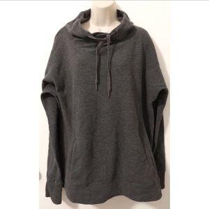 Jackets & Blazers - Scoop Neck Drawstring Pullover Jacket